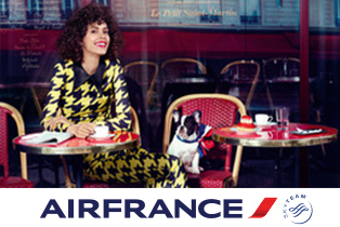 Специальное предложение в Париж от авиакомпании Air France