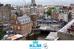 Специальные предложения в Европу от авиакомпании KLM