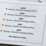 Etihad Airways – лучшая авиакомпания в мире пятый год подряд!