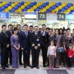 Авиакомпания «Сингапурские Авиалинии» отмечает 10-ти летие полетов из Москвы в Сингапур
