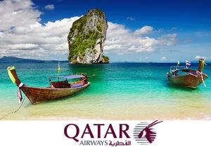 Из городов России в Азию вместе с авиакомпанией Qatar Airways!