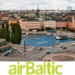 Популярные направления перелетов авиакомпании airBaltic от 2 370 рублей!