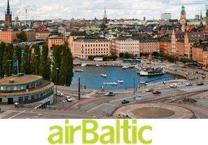 Большая распродажа AirBaltic с вылетом из Калининграда!
