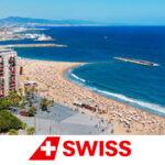 В отпуск в Европу со SWISS