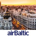Специальное предложение от авиакомпании AirBaltic, рейсы из Казани от 6329 рублей!