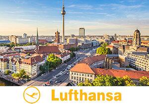 Множество направлений для путешествий от авиакомпании Lufthansa!