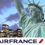 Скидка 3500 рублей на перелет в США от авиакомпании Air France