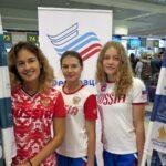За медалями из DME: сборная России по фристайлу отправилась на Первенство мира рейсом Сингапурских Авиалиний