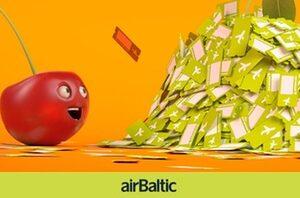Дешевые полеты во все направления airBaltic с вылетом из Вильнюса!