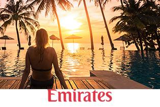 Рейсы авиакомпании Emirates из городов России от 23000 рублей в обе стороны!