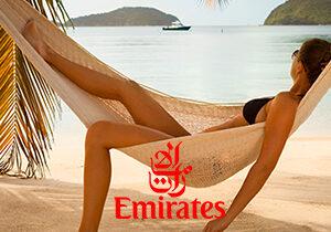Специальное предложение от авиакомпании Emirates.