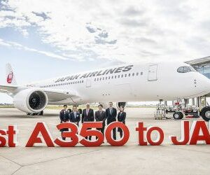 Авиапарк Japan Airlines пополнился первым Airbas А350