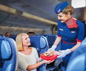 Сервис авиакомпании «Россия» признан наиболее прогрессирующим в Евразии.