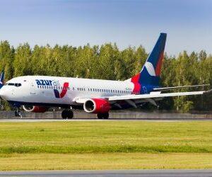 Авиакомпания Azur Air запустила рейс из Перми в Санью
