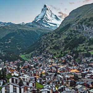 Рождественская Швейцария со SWISS!
