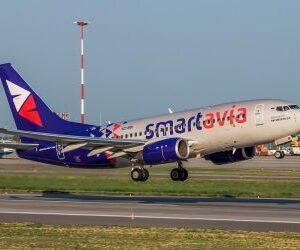Летаем по России вместе с авиакомпанией Smartavia!