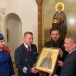 Superjet 100 авиакомпании «Россия» назван в честь Сергиева Посада