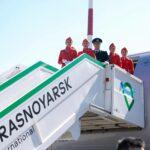 В Красноярске состоялась торжественная церемония открытия хаба Аэрофлота