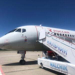 Рейс «России» соединил Санкт-Петербург и Нальчик