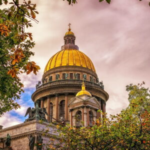 Знакомство с Петербургом. Обзорная экскурсия на автобусе