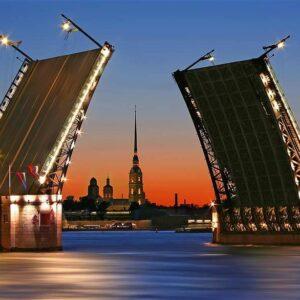 Северные острова, каналы и развод мостов